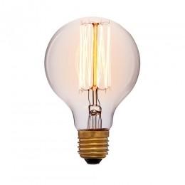 Лампа Эдисона G45 F2 Sun Lumen 053-624, цвет золотой