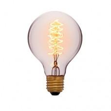 Лампа Эдисона G80 F5 Sun Lumen 051-989а, цвет золотой