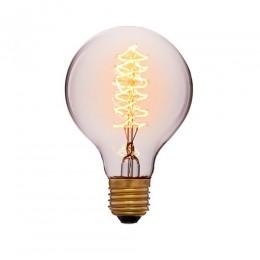 Лампа Эдисона G45 F5 Sun Lumen 053-648, цвет золотой