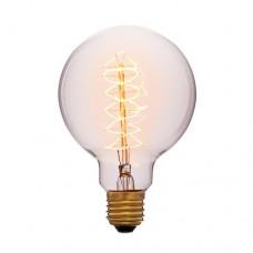 Лампа Эдисона G95 F5 Sun Lumen 052-009a, цвет золотой
