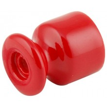Изолятор кабельный Lindas 120-К, цвет красный