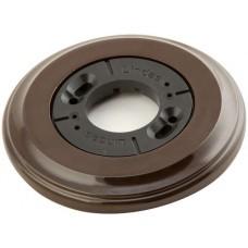 Рамка одноместная наружная Lindas 25112, цвет коричневый