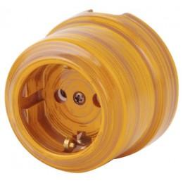 Розетка электрическая Lindas 35025, цвет бамбук