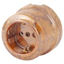 Розетка электрическая Lindas 350-Г, цвет гефест