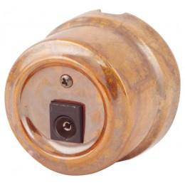 Розетка телевизионная Lindas 325-Г, цвет гефест