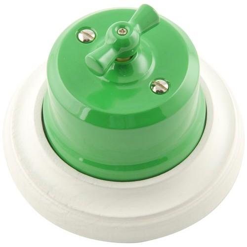 Выключатель   4-х позиционный Lindas 341-З, цвет зеленый