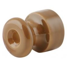 Изолятор кабельный с саморезом Werkel a036799-К 10 шт, цвет капучино