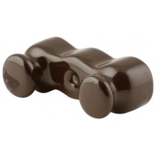 Изолятор кабельный Salvador IS12BR, цвет коричневый