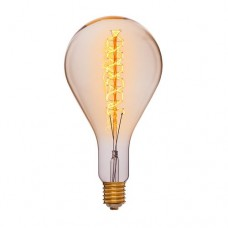 Лампа Эдисона PS160R F5 Sun Lumen 052-122, прозрачная