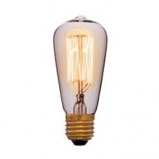 Лампа Эдисона ST48 F2 Sun Lumen 053-549, цвет золотой