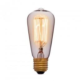 Лампа Эдисона ST48 F2 Sun Lumen 053-600, цвет золотой