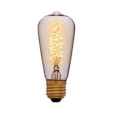 Лампа Эдисона ST48 F5 Sun Lumen 051-903, цвет золотой