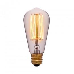 Лампа Эдисона ST58 F2 Sun Lumen 053-228, прозрачная