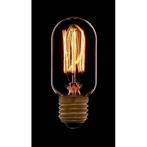 Лампа Эдисона T45 F2 Sun Lumen 051-934, цвет золотой