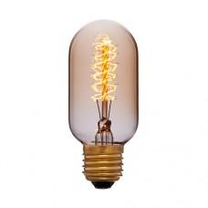 Лампа Эдисона T45 F5 Sun Lumen 051-941, цвет золотой
