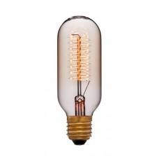 Лампа Эдисона T45 F5+ Sun Lumen 053-631, прозрачная
