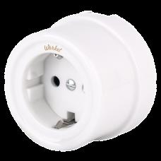 Розетка электрическая Werkel a036795, цвет белый
