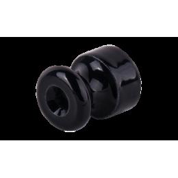Изолятор кабельный с саморезом Werkel a040269 50 шт, цвет черный