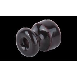 Изолятор кабельный с саморезом Werkel a040268 50 шт, цвет коричневый