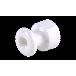 Изолятор кабельный с саморезом Werkel a040267 50 шт, цвет белый