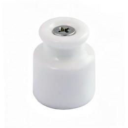Изолятор кабельный ТМ МезонинЪ GE70027-01, цвет белый