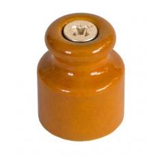 Изолятор кабельный Greenel GE70020-32, цвет песочное золото
