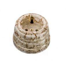 Розетка электрическая Greenel GE70301-19, цвет дворцовый мрамор