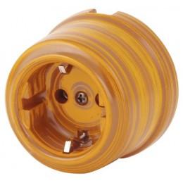 Розетка электрическая Sun Lumen 080-408, цвет имперадор