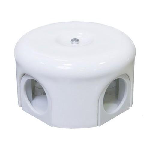 Коробка распаечная Ø90 мм Lindas 33510, цвет белый