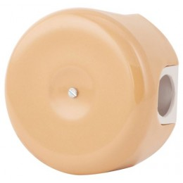 Коробка распаечная Ø78 мм Lindas 330-ТП, цвет темно-персиковый