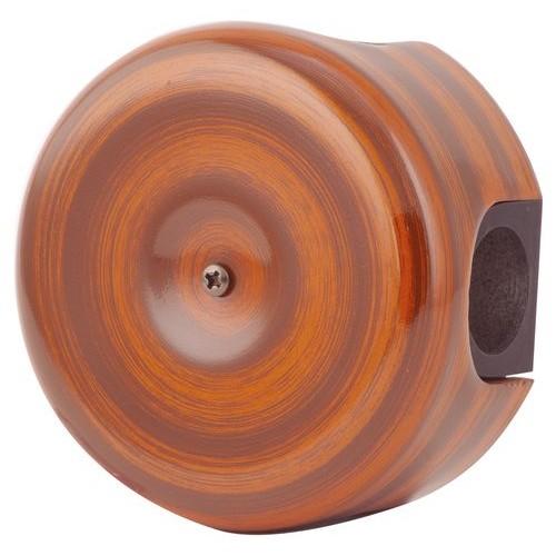 Коробка распаечная Ø90 мм Lindas 33527, цвет палисандр