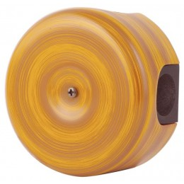 Коробка распаечная Ø78 мм Lindas 33025, цвет бамбук