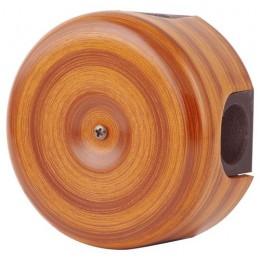 Коробка распаечная Ø78 Lindas 33026, цвет орех