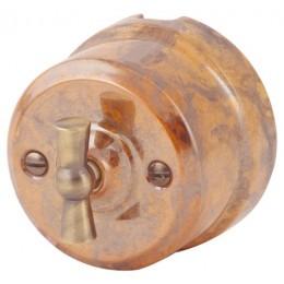 Выключатель 4-х позиционный Lindas 341-Г, цвет гефест