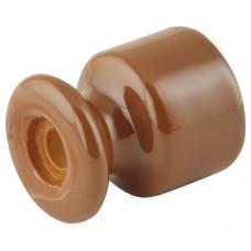 Изолятор кабельный Lindas 120-МШ, цвет молочный шоколад