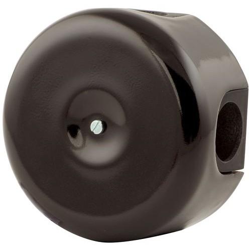 Коробка распаечная Ø90 мм Lindas 33515, цвет черный