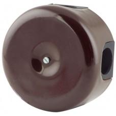 Коробка распаечная Ø78 мм Lindas 33012, цвет коричневый