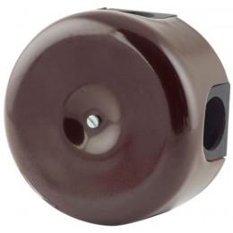 Коробка распаечная Ø90 мм Lindas 33512, цвет коричневый