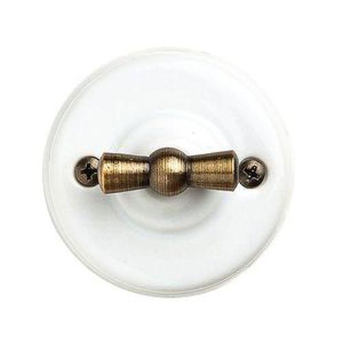 Выключатель   4-х позиционный Salvador OP21WT, цвет белый