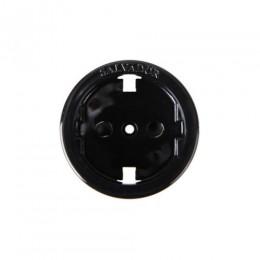 Вставка пластиковая для розеток Salvador 01CL12BL, цвет черный