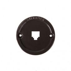 Вставка пластиковая для телефонных розеток Salvador 01CL.TEL.BR, цвет коричневый