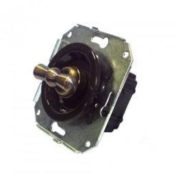 Выключатель 2-х позиционный Salvador CL11BR, цвет коричневый