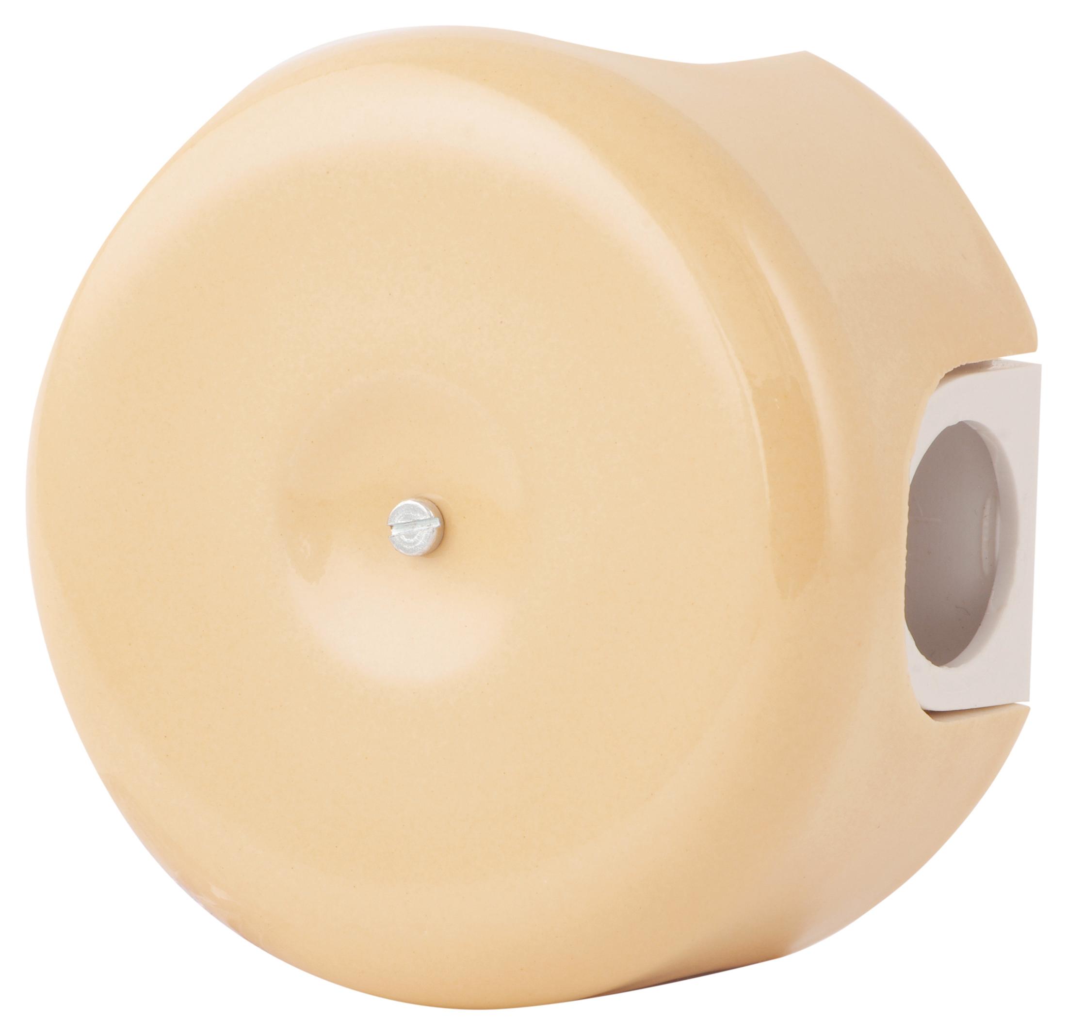 Коробка распаечная Ø78 мм Sun Lumen 080-293, цвет джиалло реале