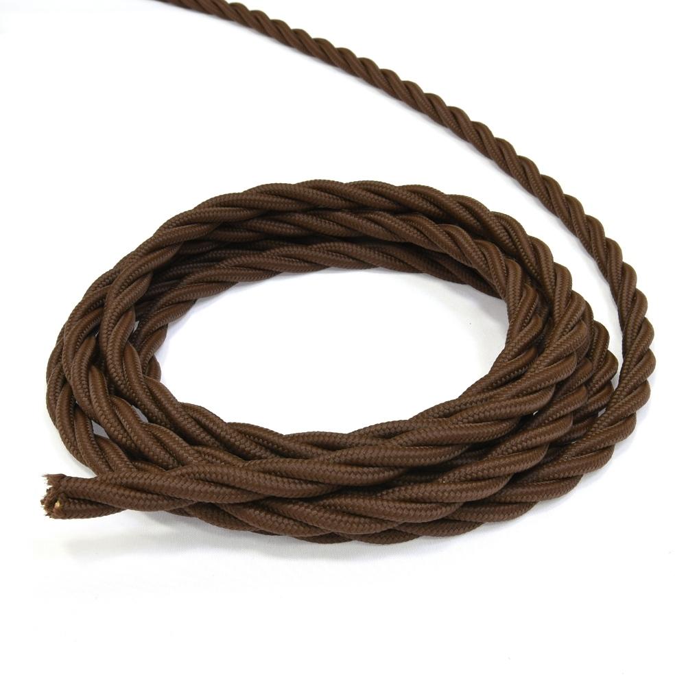 Провод электрический 3х2,5 Lindas 63242, цвет коричневый