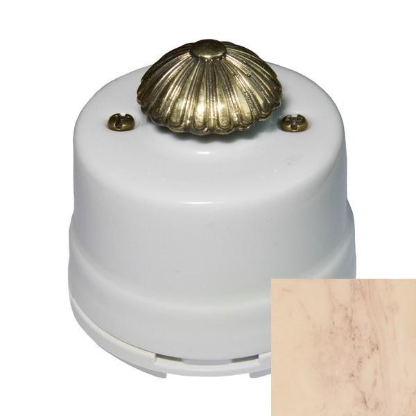 Выключатель диммер Salvador OPDMKRM, цвет карельский мрамор