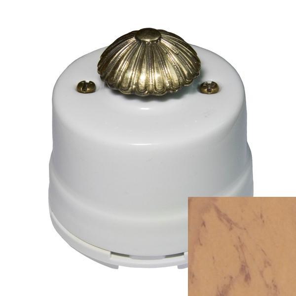 Выключатель диммер Salvador OPDMALM, цвет альпийский мрамор