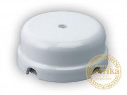Коробка распаечная Ø78 мм Retrika RR-09011, цвет белый