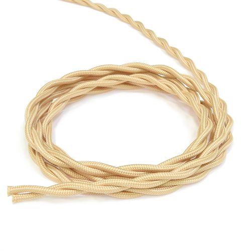 Провод для интернета Lindas 60245, цвет песочное золото