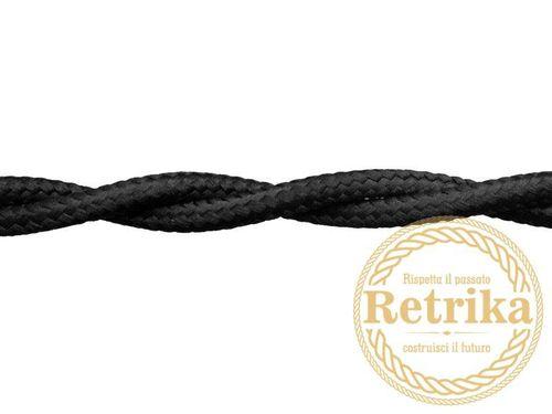 Провод электрический 2х1,5 Retrika RP-21508, цвет черный
