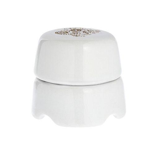Коробка распаечная Ø60 мм Salvador BOX1UZ, цвет белый с узором
